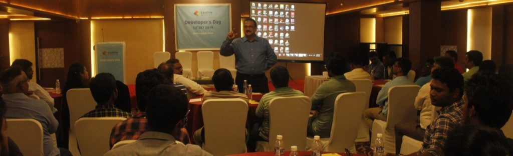 Addressed by iSolve MD Mr .Parthasarathy