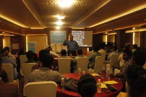 Addressed by iSolve Technologies MD Mr .Parthasarathy