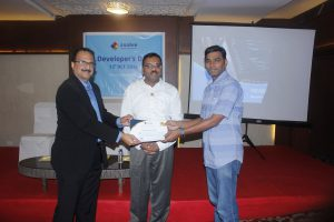 Award received by Mr. Purush